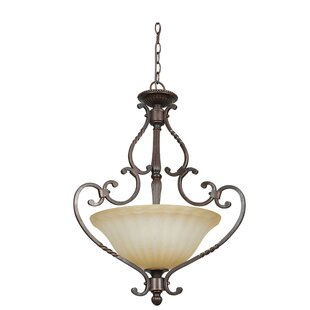 Radionic Hi Tech Daniella 3-Light Bowl Pendant