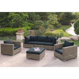 Harvey 6 Piece Patio Sofa Set with Cushions