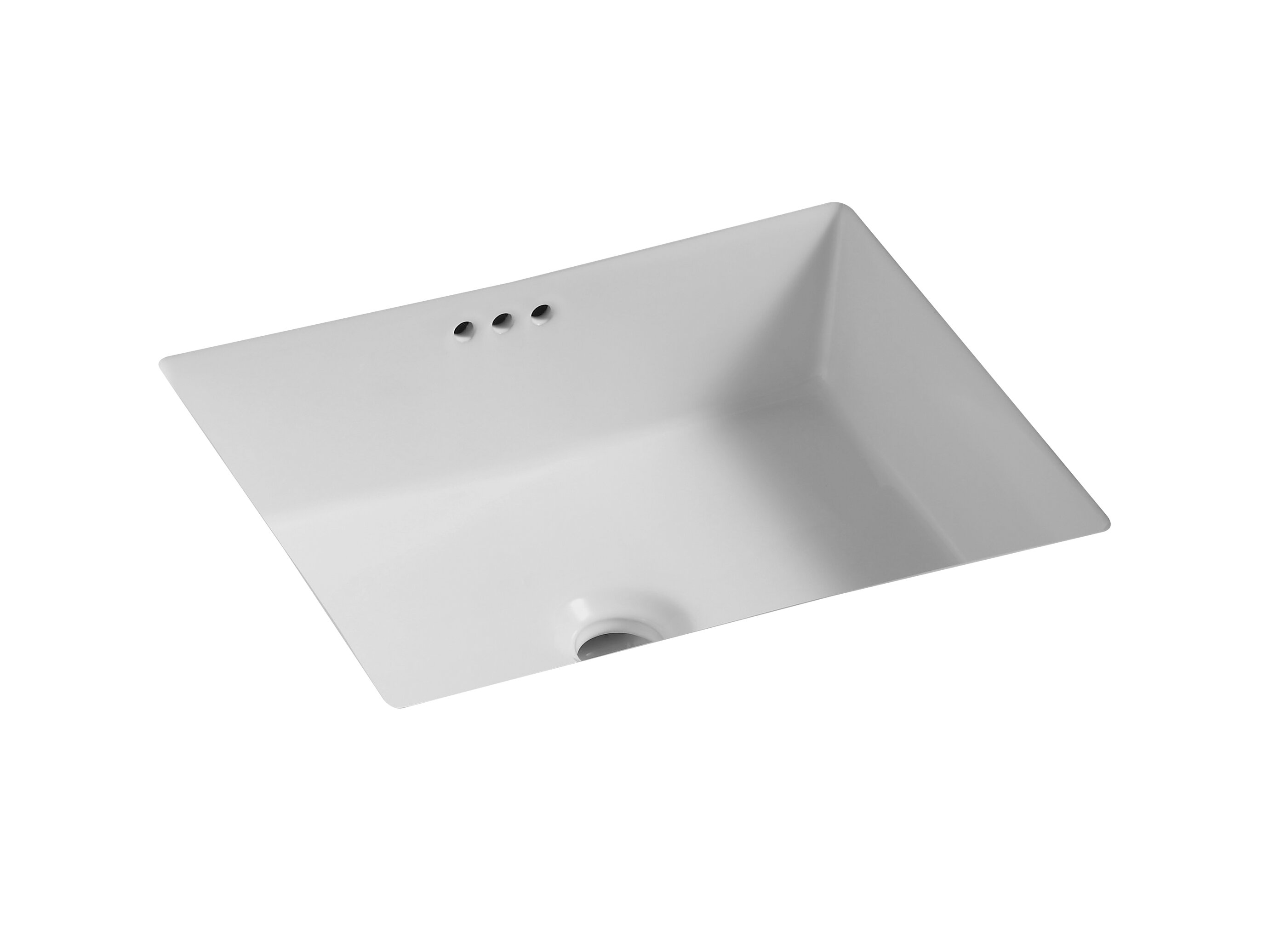 Valley Acrylic Ltd Vitreous China Ceramic Rectangular Undermount Bathroom Sink And Overflow Wayfair