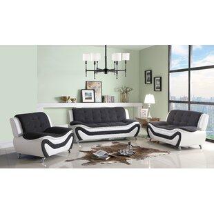 Mayo 3 Piece Living Room Set By Orren Ellis
