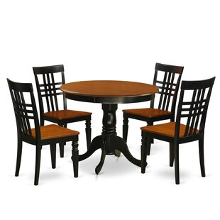 Antony 5 Piece Dining Set August Grove