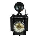 Classic Old School Camera Clock