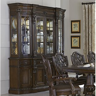 Weik Console China Cabinet by Astoria Grand