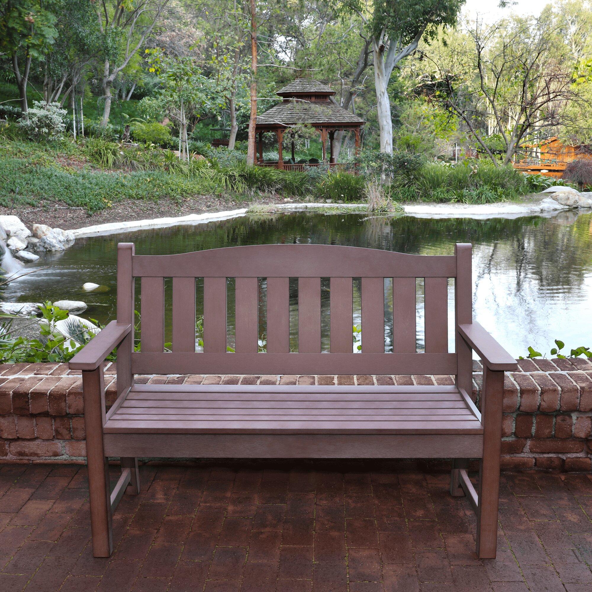 Huntington Plastic Garden Bench