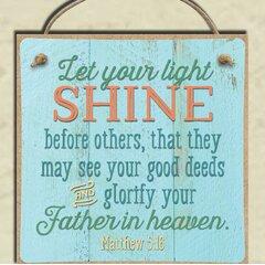Let Your Light Shine Wayfair