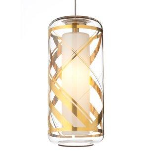 Tech Lighting Ecran Monopoint 1-Light Cylinder Pendant