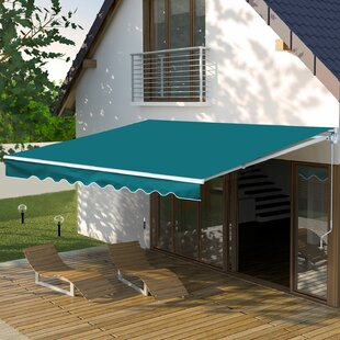 Sonakshi 3m W X 2.5m D Retractable Patio Awning By Sol 72 Outdoor