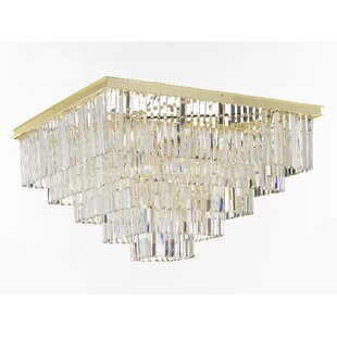 Rosdorf Park Larrison 18-Light Flush Mount