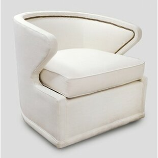 Monroe Swivel Barrel Chair by Gabby