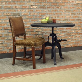 Aguilar Leather Upholstered Dining Chair by Alcott Hill SKU:DB811998 Order