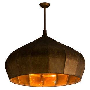 Meyda Tiffany Greenbriar Oak1-Light Pendant