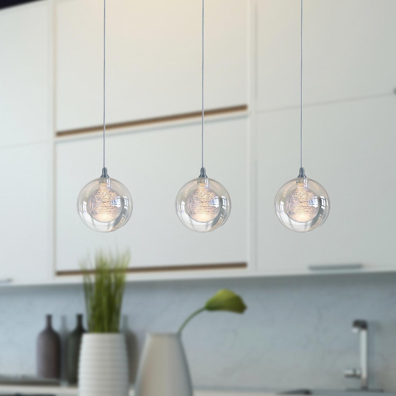 Orren Ellis Riverdale 3 Light Kitchen