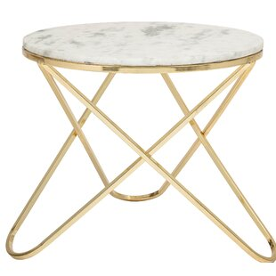 Cogdill Marble End Table by Mercer41