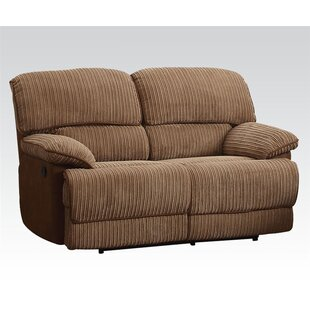 Hedgepeth Upholstered Motion Reclining Loveseat Red Barrel Studio