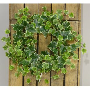 Ivy Candele Ring 45cm Artificial Wreath By The Seasonal Aisle
