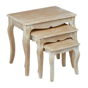 Champetre 3 Piece Nest Of Tables By Lily Manor