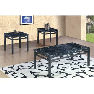 Charlton Home Mccaulley 3 Piece Coffee Table Set