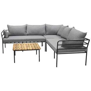 Yashvi 4 Seater Corner Sofa Set By Sol 72 Outdoor