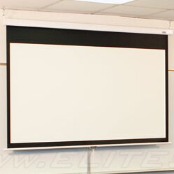 Manual SRM Pro Series White Manual Projection Screen