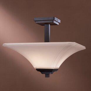 Byrnes 2-Light Semi Flush Mount