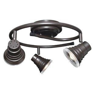 Inexpensive 3-Light LED Flush Mount ByRadionic Hi Tech
