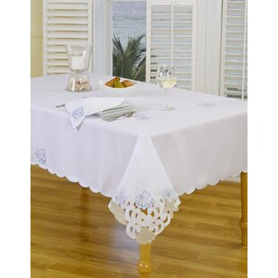 Seaside Cutwork Tablecloth