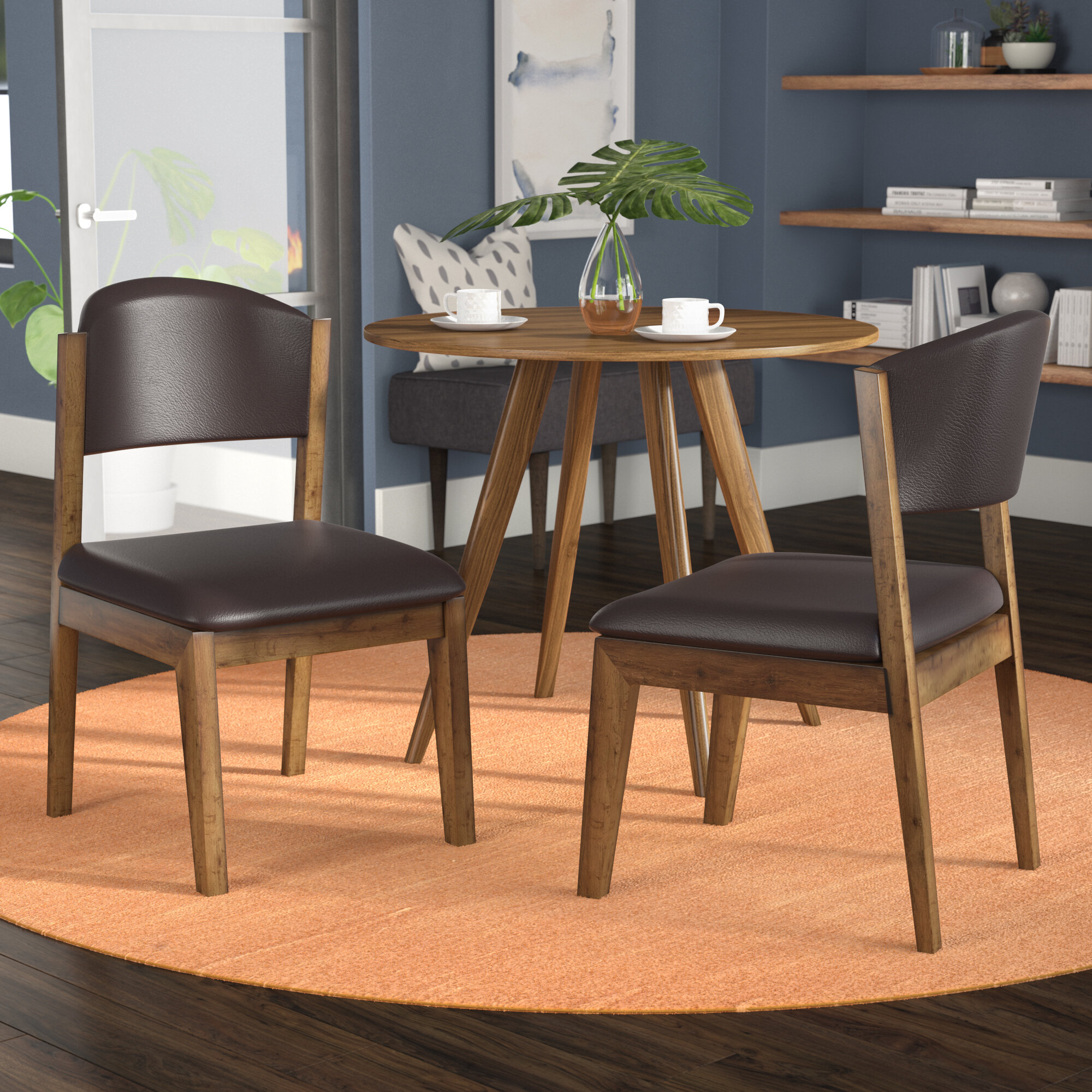 Mercury Row Hydrus Upholstered Side Chair