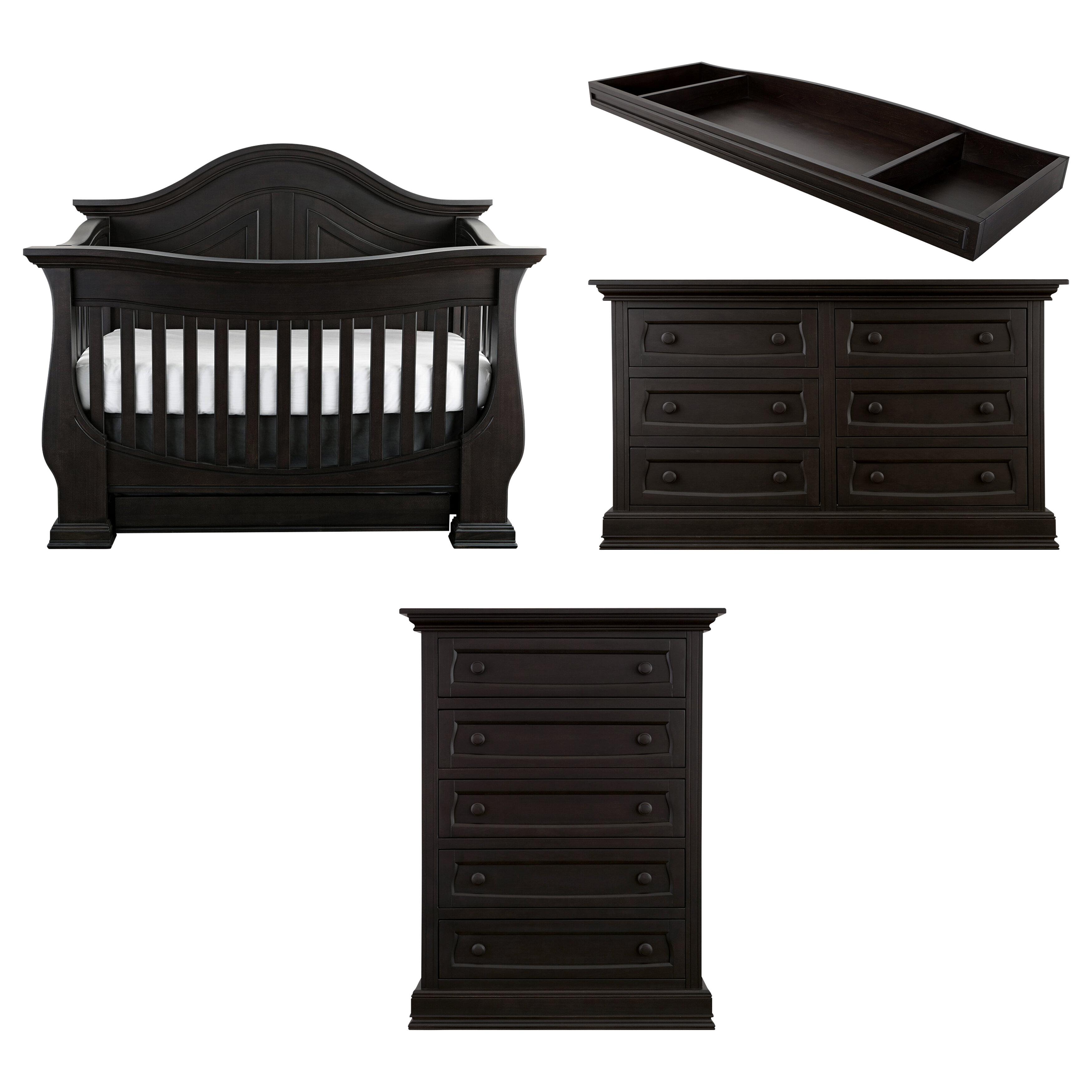 BabyAppleseed Dorchester Convertible Standard Nursery Furniture