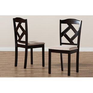 Haddix Dining Chair (Set of 2) Charlton Home