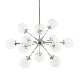 Benites 12-Light Sputnik Chandelier ByLangley Street