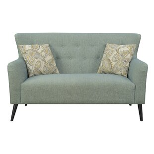 Kincer Button Tufting Settee Ophelia & Co.