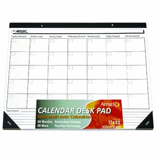 Rebrilliant Ecker Undated Calendar Paper Desk Pad