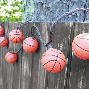 DEI 10-Light 8.5 ft. Basketball String Lights