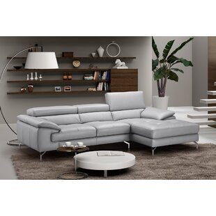 J&M Furniture Liam Leather Sectional