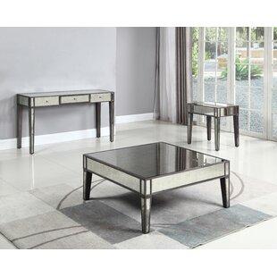 Rosdorf Park Brooklynn 3 Piece Coffee Table Set