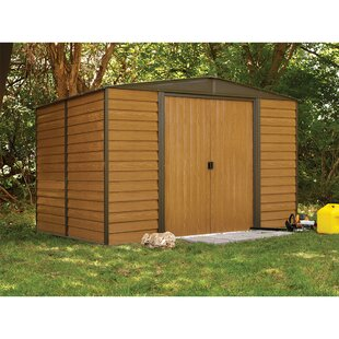 Woodridge 10 Ft. W X 8 Ft. D Metal Storage Shed By Arrow
