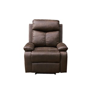 Gennessee Manual Recliner by Red Barrel Studio