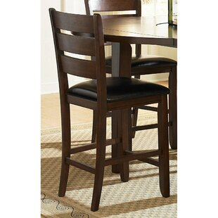 Annabell Wooden Bar Stool (Set of 2)
