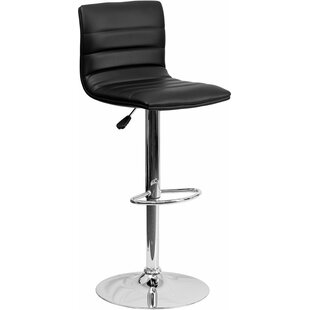 Whelan Mid Back Adjustable Height Swivel Bar Stool