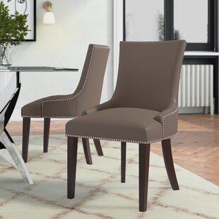 Meadowland Upholstered Dining Chair (Set Of 2) By ClassicLiving
