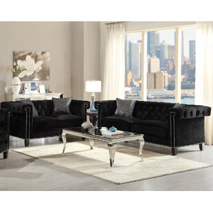 Infini Furnishings Gloversville 2 Piece Living Room Set
