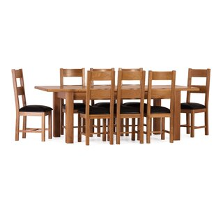 Rebekah Extendable Dining Set With 8 Chairs By August Grove