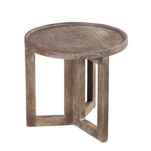 Union Rustic Borup End Table
