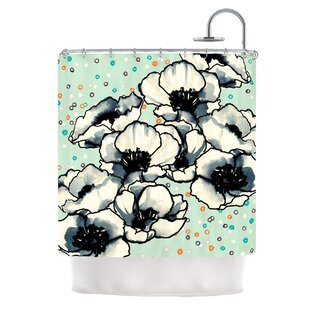 Anenome Fizz Single Shower Curtain