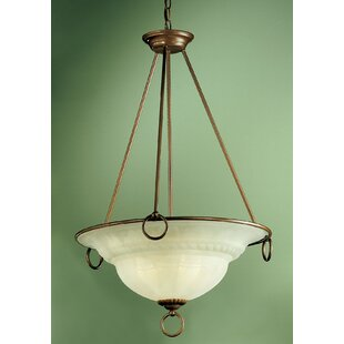 Classic Lighting Livorno 3-Light Bowl Pendant