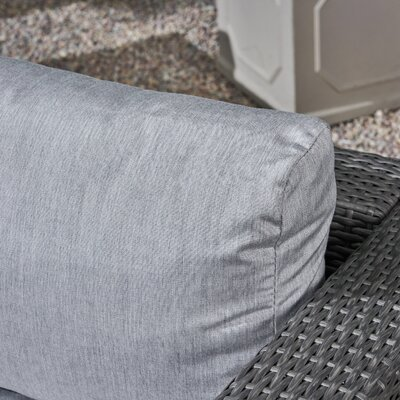 Cool Brayden Studio Roxann Outdoor 5 Seater Wicker Sectional Sofa Bralicious Painted Fabric Chair Ideas Braliciousco