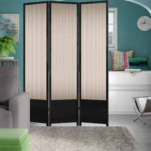 Check Prices Halina 3 Panel Room Divider By Wrought Studio