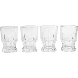 Admiration 7.7 oz. Cut DOF Glass (Set of 4)