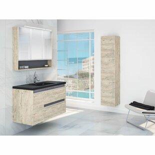 Raiden 800mm Wall Hung Single Vanity By Belfry Bathroom