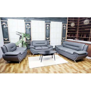 Faux Leather Living Room Sets You Ll Love In 2021 Wayfair Ca